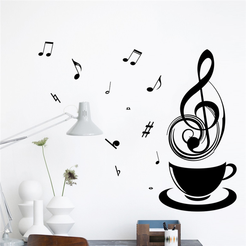 Relax-Coffee-Cup-Music-Note-Cafe-Wall-Stickers-Art-Vinyl-Decal-Kitchen-Restaurant-Pub-sittingroom-D-PIC-MCH098586 Cafe Wallpaper For Kitchen 24+