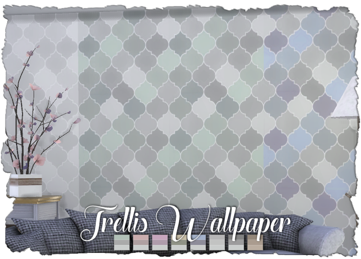 Sims-CC-Trellis-Wallpaper-PIC-MCH0101837 Cc Wallpaper Sims 4 7+