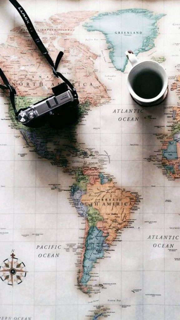 World-Map-Travel-Plans-Camera-Coffee-iPhone-Wallpaper-PIC-MCH0117388-576x1024 The World Wallpaper Iphone 35+