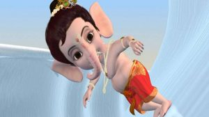 Little Ganesha Hd Wallpaper 9+