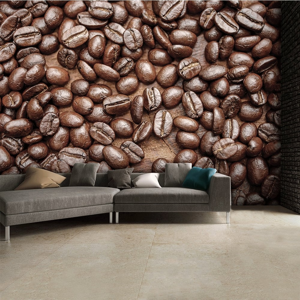 brown-caf-coffee-bean-wallpaper-wall-mural-cm-x-cm-p-image-PIC-MCH049728 Cafe Wallpaper Designs 18+