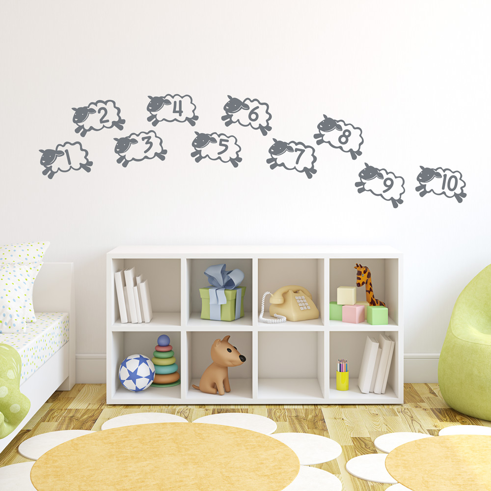 counting-sheep-wall-decal-storm-grey-PIC-MCH054503 Sheep Wallpaper For Walls 12+