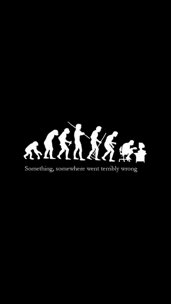 iPhone-Wallpaper-Fun-quotes-evolution-PIC-MCH01124-577x1024 Iphone 5s Wallpaper Quotes 48+