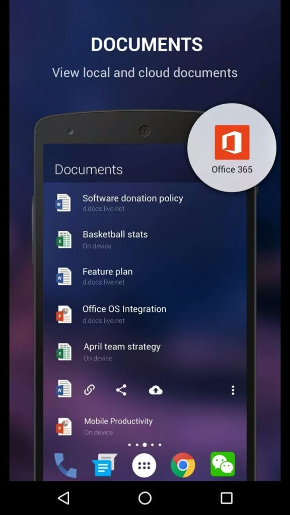 microsoft-updates-android-launcher-with-office-support-new-wallpapers-PIC-MCH086118-576x1024 Google Now Launcher Wallpapers 12+