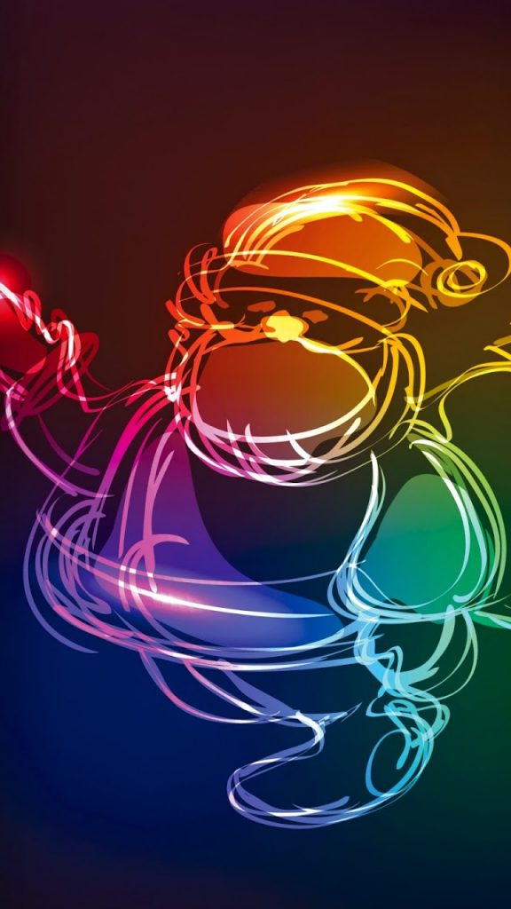 mobile-phone-wallpapers-android-neon-colored-santa-christmas-PIC-MCH086943-576x1024 Neon Wallpapers For Mobile 32+