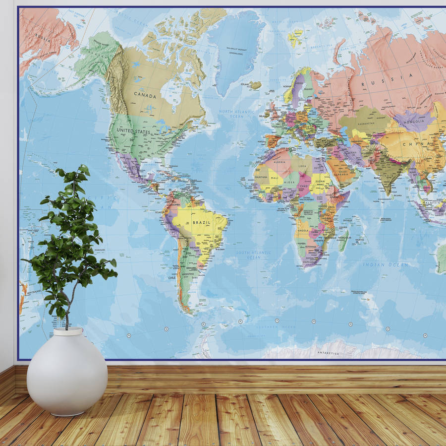original-giant-world-map-mural-PIC-MCH092564 The World Wallpaper Map 17+