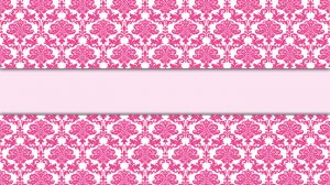 Pink Damask Wallpaper Border 12+