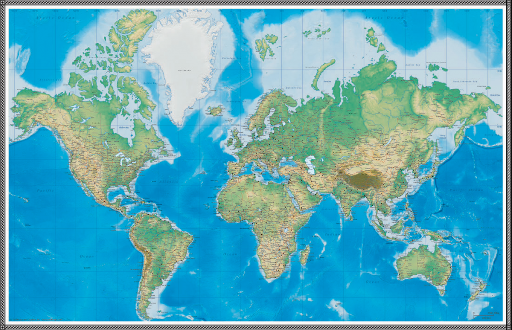 world-map-wallpaper-PIC-MCH028890-1024x661 The World Wallpaper Map 17+