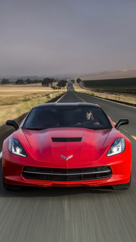 ws-Red-Chevrolet-Corvette-Stingray-Front-Motion-x-PIC-MCH0118602-577x1024 Stingray Wallpaper Iphone 42+