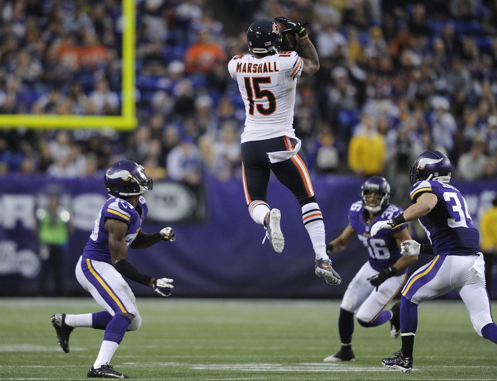 ChicagoBearsvMinnesotaVikingsDpsmAKghx-PIC-MCH052388-1024x785 Chicago Bears Brandon Marshall Wallpaper 21+