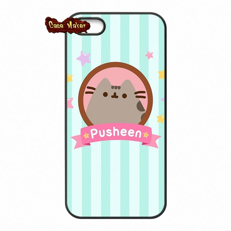Cute-Pusheen-Cat-Background-Pattern-Case-Cove-For-Apple-iPod-Touch-iPhone-PIC-MCH055652 Pusheen Wallpaper Iphone 16+