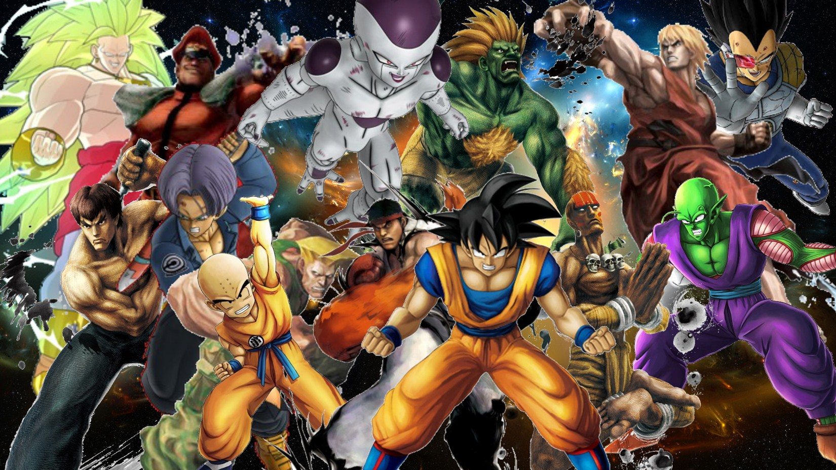 Dragon Ball Z All Characters Wallpaper On Hd PIC MCH060665