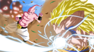 Goku Vs Majin Buu Wallpaper 18+