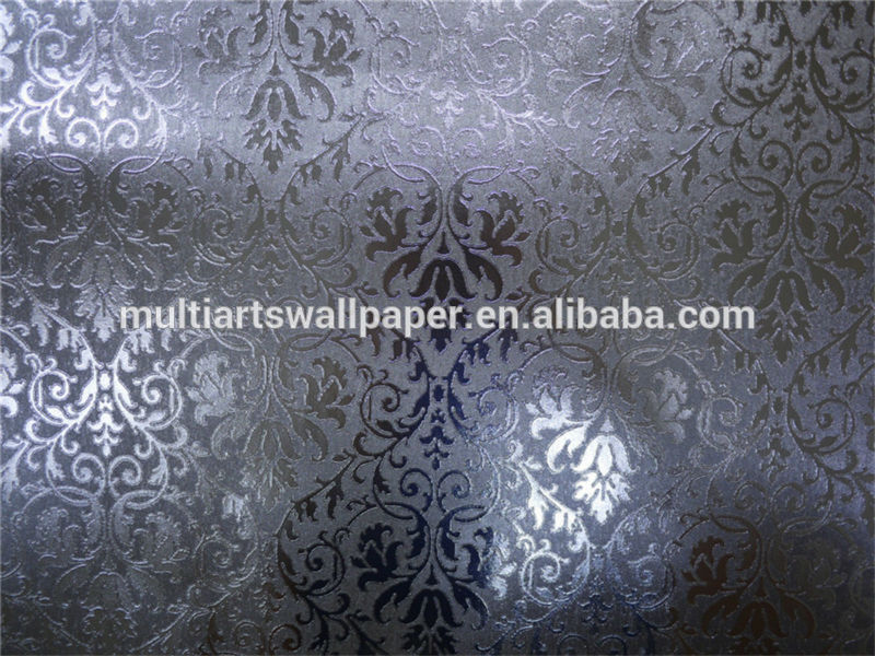 Metallic Wallpaper Silver 9