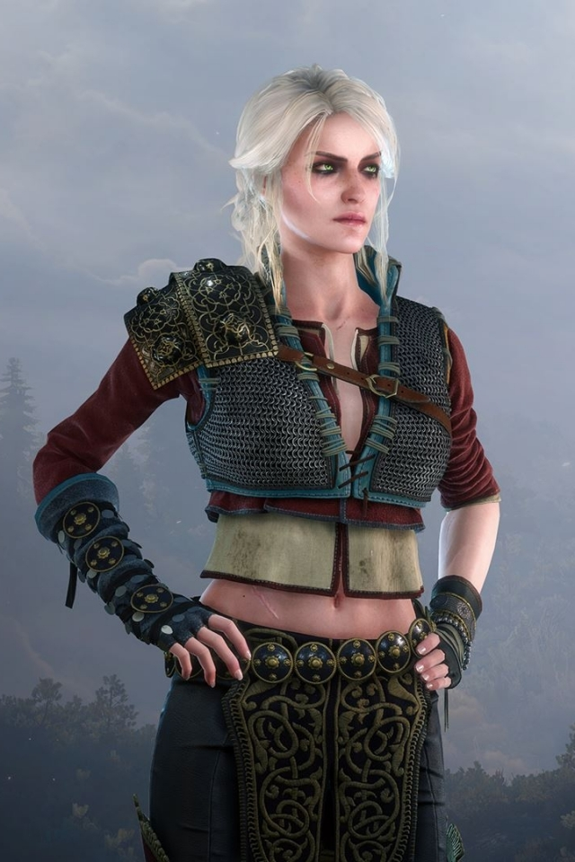 PIC-MCH028016 Wallpaper The Witcher 3 Ciri 29+
