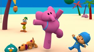Pocoyo High Resolution Wallpaper 9+