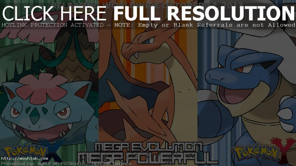 Pokemon Mega Evolution Images Wallpaper HD Computer Free