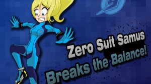 Super Smash Bros Zero Suit Samus Wallpaper 24+