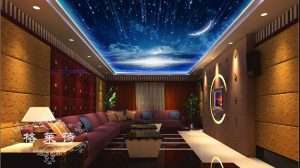 Night Sky Wallpaper For Ceiling 21+