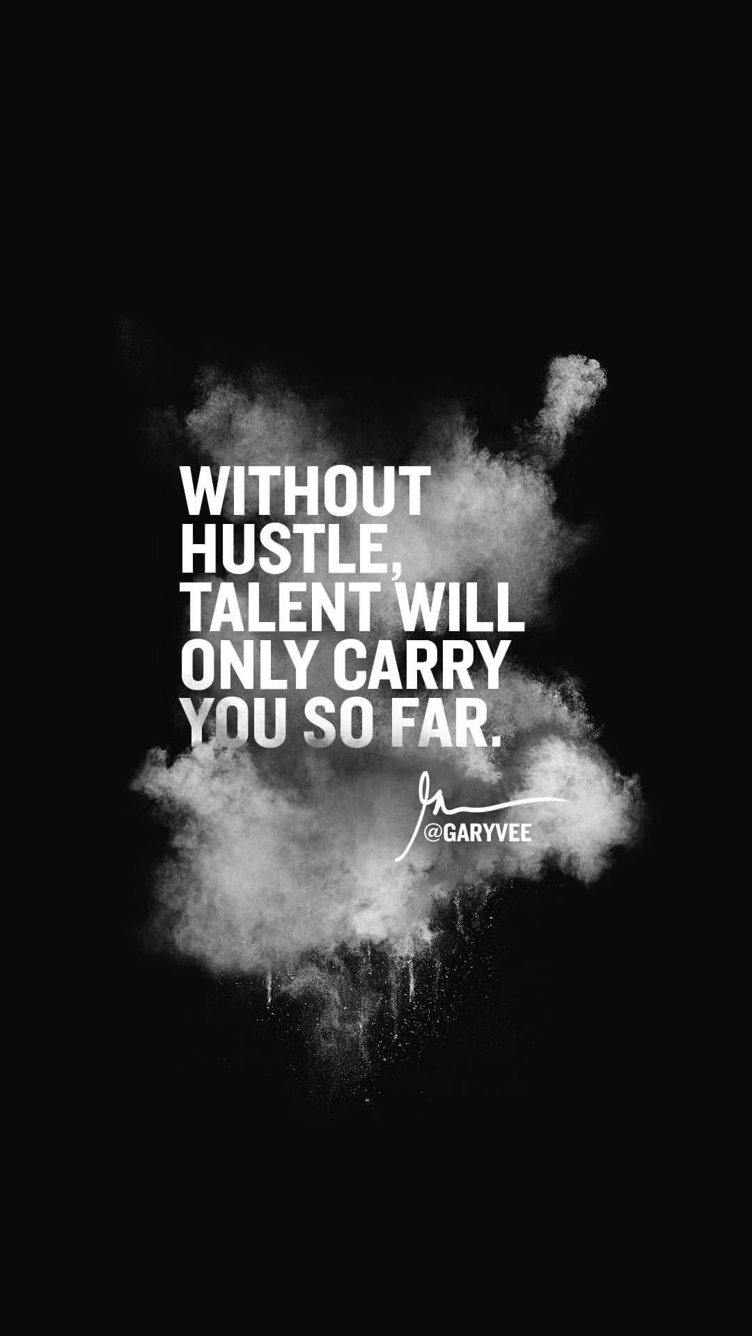 Talent Without Hustle PIC MCH0105577