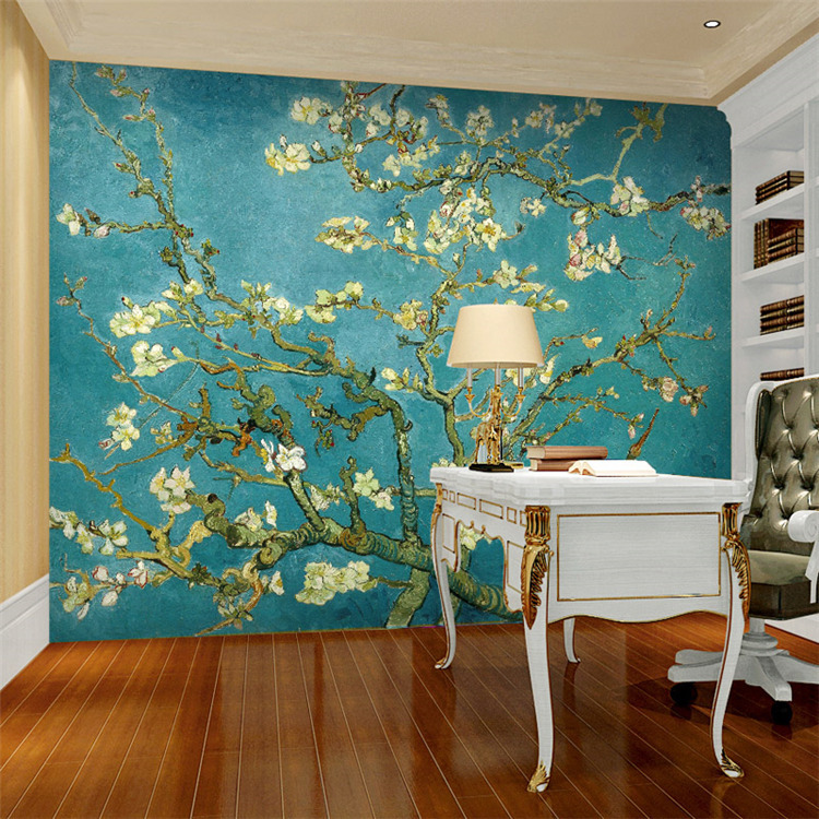 Van-Gogh-The-Apricot-blossom-tree-Art-Photo-wallpaper-Custom-Wall-Mural-Vintage-Room-decor-Bedroom-PIC-MCH0109923 Blossom Wallpaper For Walls 21+