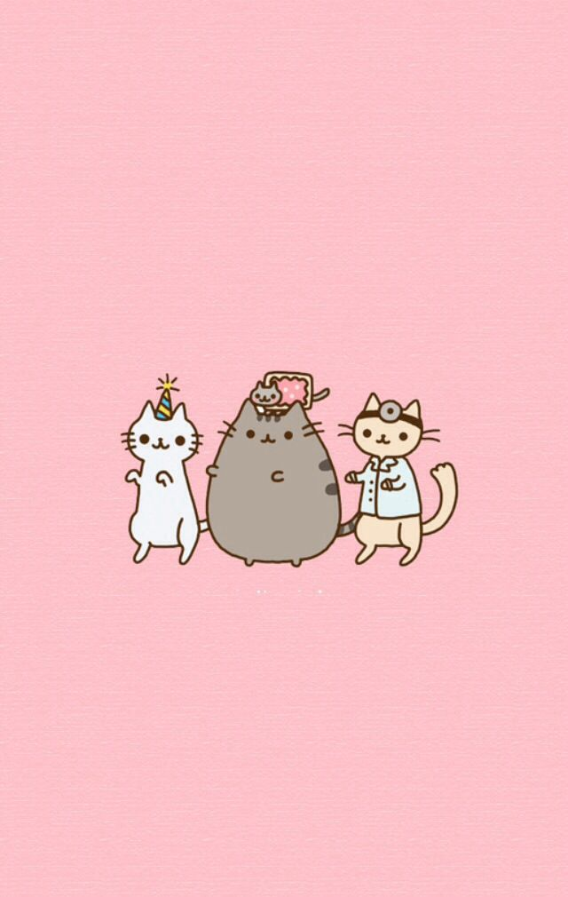 Wics-PIC-MCH0116423 Pusheen Wallpaper Android 7+