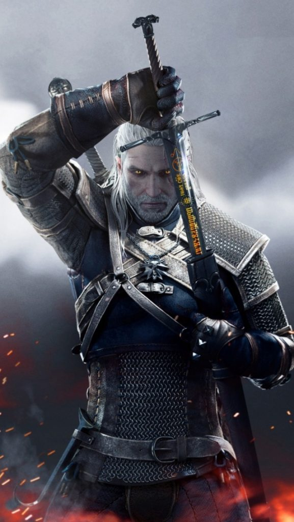 Witcher-Wild-Hunt-Geralt-l-PIC-MCH036195-577x1024 Wallpaper The Witcher 3 Ipad 34+