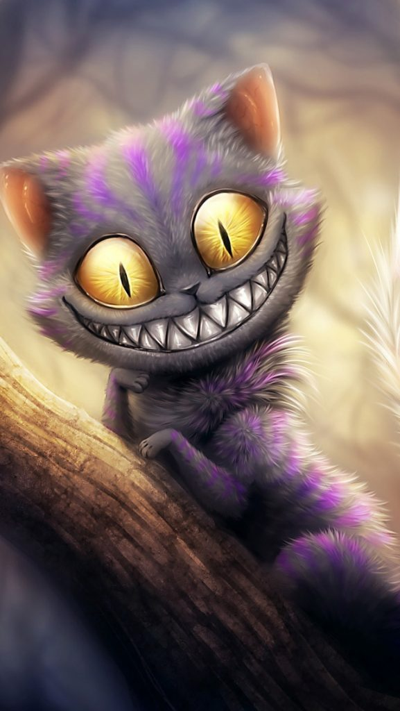 cheshire-cat-wallpaper-PIC-MCH052107-577x1024 Hd Cat Wallpapers For Mobile 25+