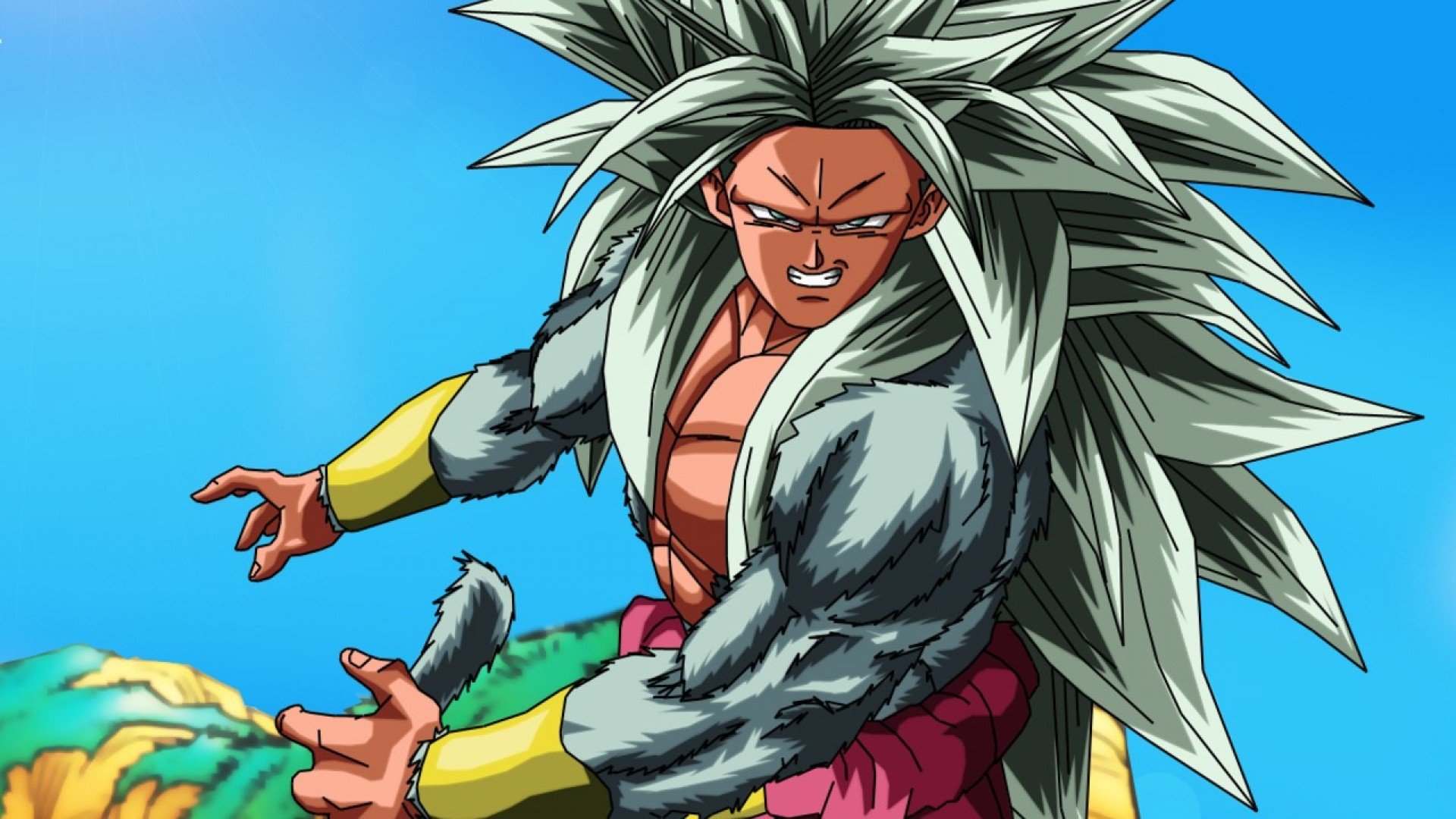Dragon Ball Z Broly Background For Free Wallpaper PIC MCH060670