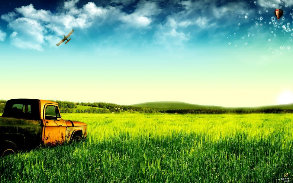 dream-of-green-pastures-and-old-trucks-P-wallpaper-middle-size-PIC-MCH060974 Old Truck Hd Wallpaper 28+