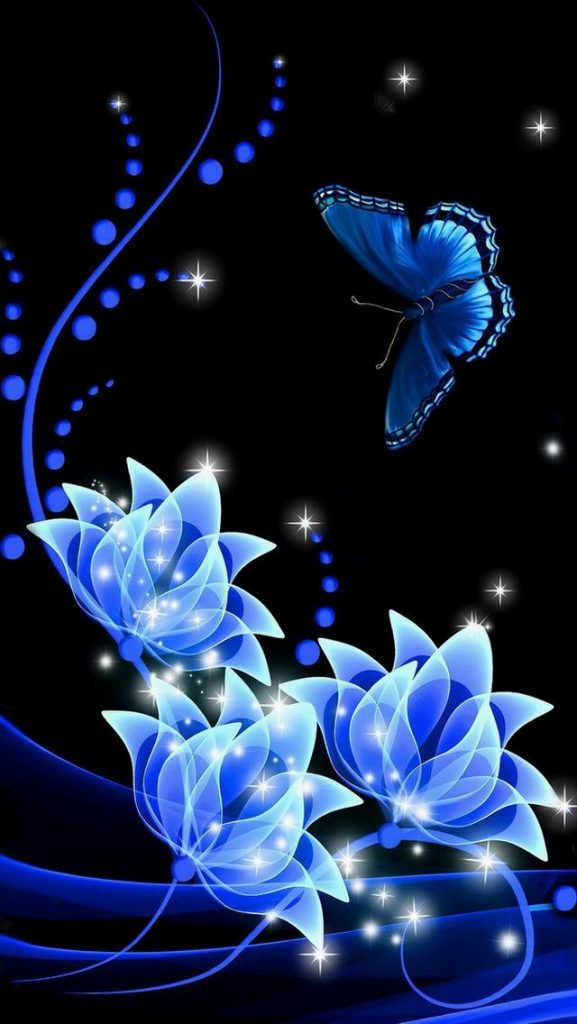 iphone-background-lock-screens-blue-butterfly-on-blue-roses-wallpaper-wp-PIC-MCH076874-577x1024 Lucina Wallpaper Iphone 15+