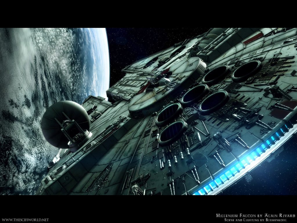 star-wars-millenium-falcon-by-alain-rivard-PIC-MCH0103876-1024x768 Wallpapers Star Wars Android 29+