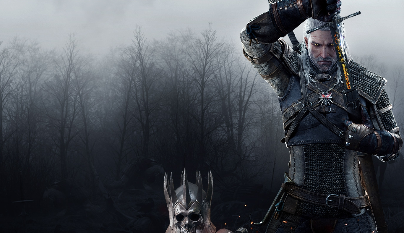 The Witcher 3 Wild Hunt Logo Hd Wallpaper4 Wallpapers For You