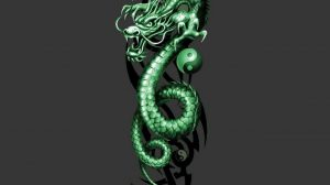 Cool Green Dragon Wallpapers 38+