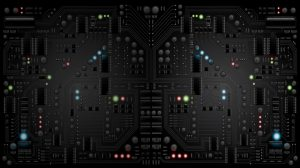 Black Circuit Board Wallpaper 35+