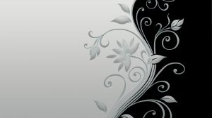 Black Background Wallpaper With Flowers 25+