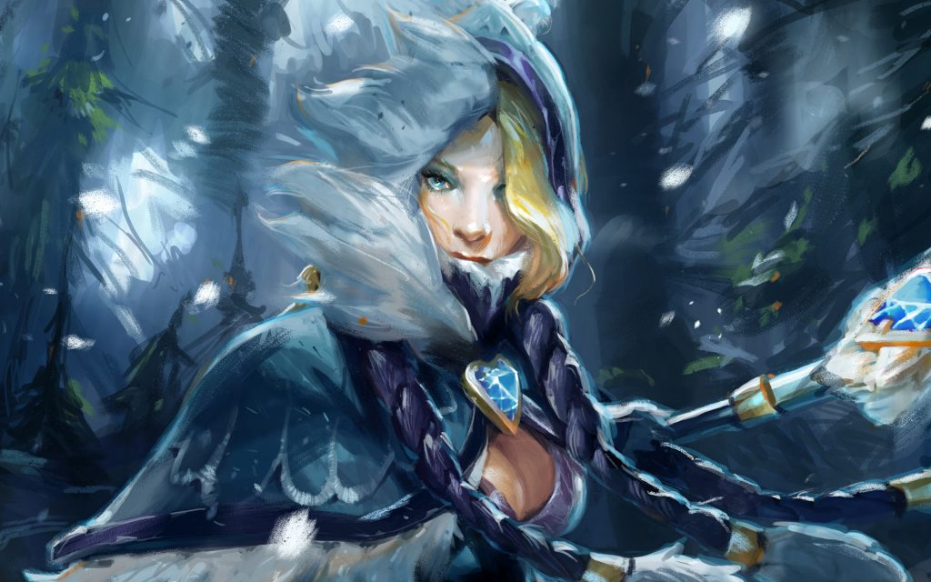 Crystal-Maiden-Wallpaper-PIC-MCH055006-1024x640 Dota 2 Hd Wallpaper 1080p 39+