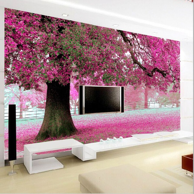 D-stereoscopic-wall-paper-pink-bedroom-TV-backdrop-self-adhesive-non-woven-wallpaper-murals-pastor-PIC-MCH019902 Non Woven Wallpaper Adhesive 41+