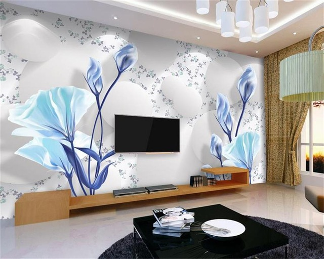 D-wallpaper-custom-photo-HD-mural-Elegant-fresh-simple-flowers-mural-TV-sofa-bedding-room-Hotel.jp-PIC-MCH019933 Wallpaper Furniture Hd 33+