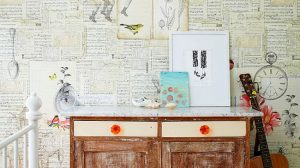 Wallpaper Furniture Decoupage 10+