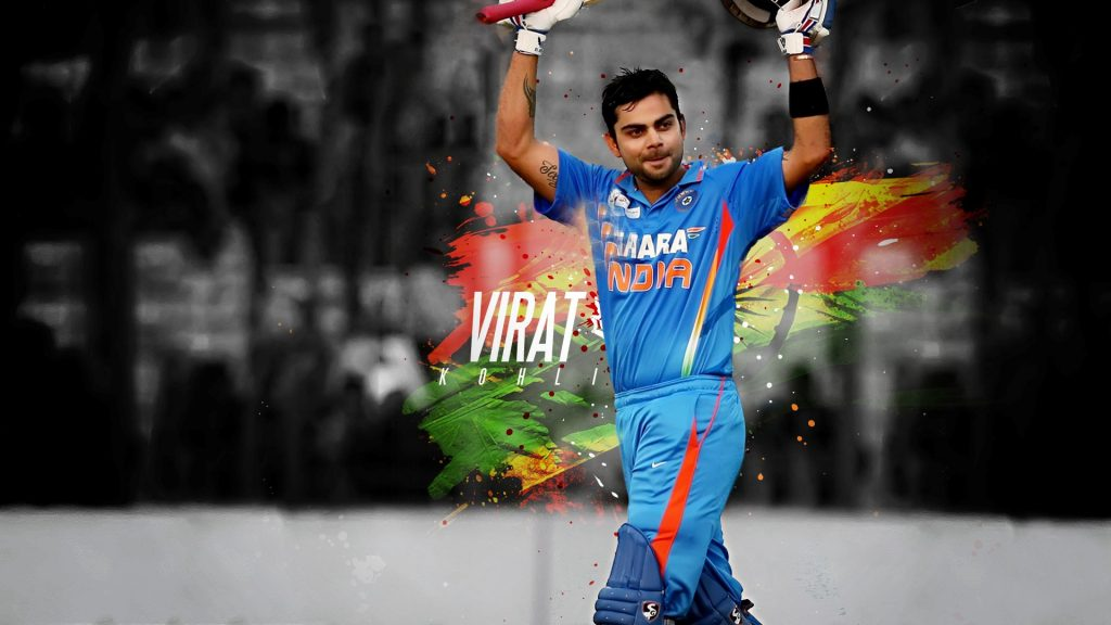 Handsome-Virat-Kohli-with-Bat-Indian-Cricket-Player-Wallpapers-PIC-MCH070789-1024x576 Beautiful Wallpapers Indian Cricketers 37+
