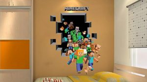 Minecraft Bedroom Wallpaper Ireland 12+