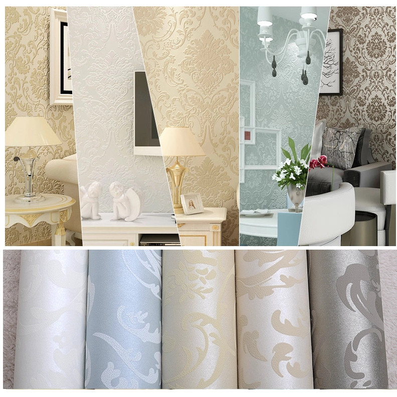 Non-woven-european-glossy-stylish-blue-beige-white-modern-damask-wallpaper-living-room-modern-luxur-PIC-MCH091161 Non Woven Wallpaper Uk 12+