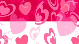 Wallpaper Heart Pink 23+