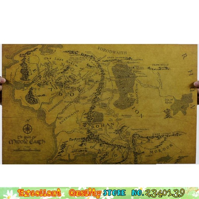 The Lord Of The Rings Map Wallpaper 40+