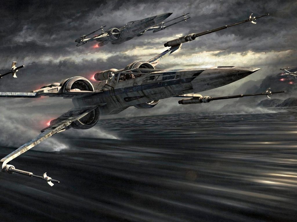 Star-Wars-Episode-The-Force-Awakens-X-Wing-artwork-by-Jerry-HD-Wallpapers-for-Desktop-x-PIC-MCH0103792-1024x768 Star Wars Iphone Wallpapers Force Awakens 50+