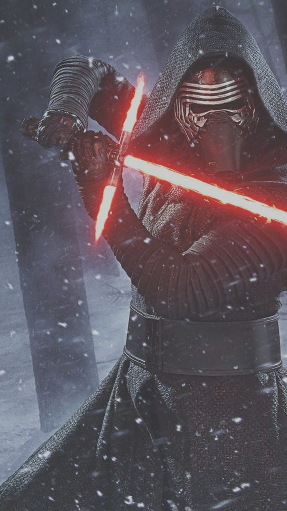 Star-Wars-The-Force-Awakens-Kylo-Ren-Lightsaber-Wallpaper-iDeviceArt-PIC-MCH0103934-576x1024 Star Wars Iphone Wallpapers Force Awakens 50+