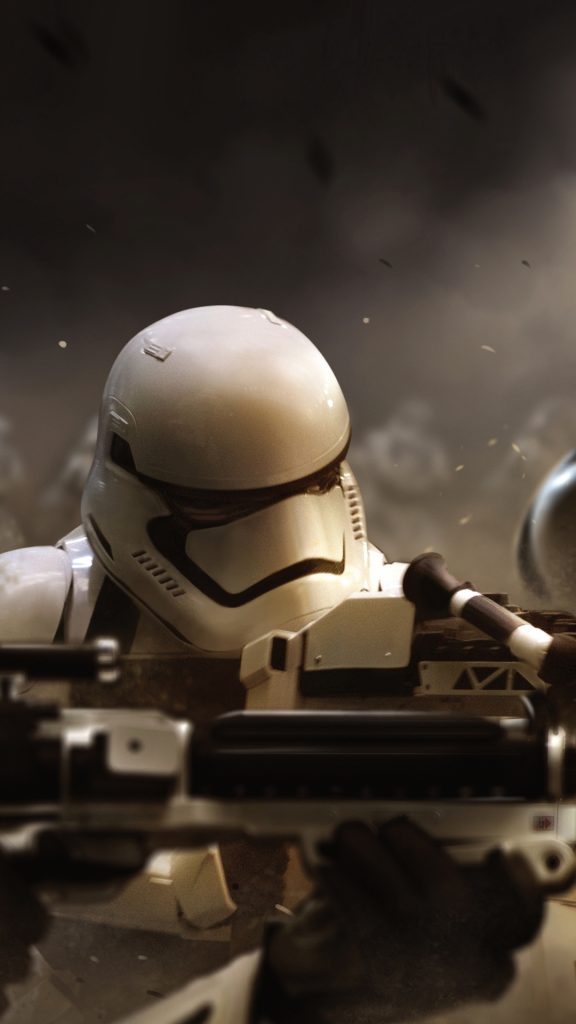 Star-Wars-The-Force-Awakens-Wallpaper-Stormtrooper-Offensive-PIC-MCH0103957-576x1024 Star Wars Iphone Wallpapers Force Awakens 50+