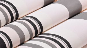 Black White And Orange Striped Wallpaper 19+