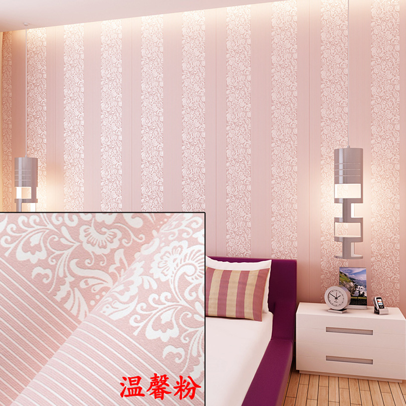 Wholesale-from-sticky-wallpaper-Non-woven-flocking-wallpaper-sitting-room-bedroom-dorm-renovation-n-PIC-MCH0116408 Non Woven Wallpaper Adhesive 41+